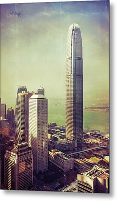 88 Floors Metal Print by Joseph Westrupp