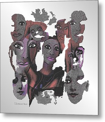 926 - Decomposition 2017 Metal Print by Irmgard Schoendorf Welch