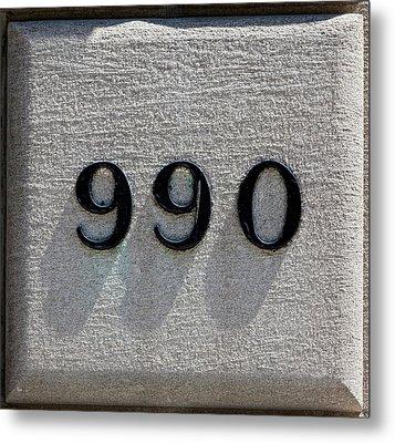 990 Metal Print by Robert Ullmann
