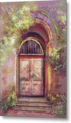 A Beautiful Mystery Metal Print by Lois Bryan
