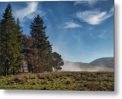 Metal Print featuring the photograph A Beautiful Scottish Morning by Jeremy Lavender Photography