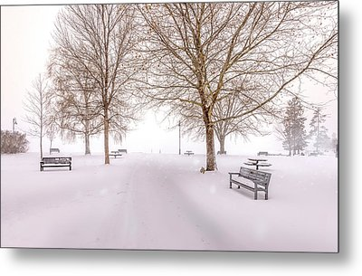 A Beautiful Winter's Morning  Metal Print by John Poon