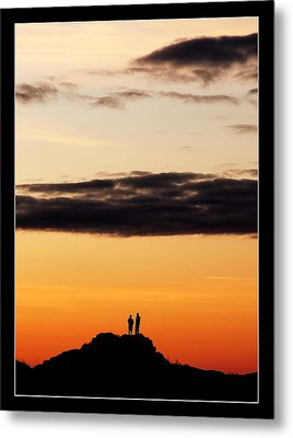 A Big Sky Metal Print by Mark Denham