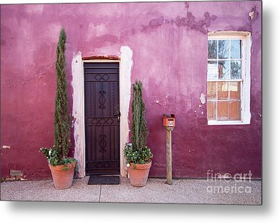 Metal Print featuring the photograph A Bit Of Brightness Down The Lane by Linda Lees