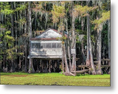 A Boggy Tea Room Metal Print