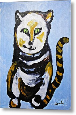 A Cat For Lynne Metal Print