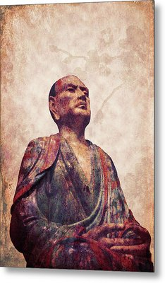Buddha 5 Metal Print by Lynn Sprowl