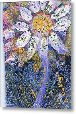 A Child Is Like A Flower Metal Print by Anne-Elizabeth Whiteway