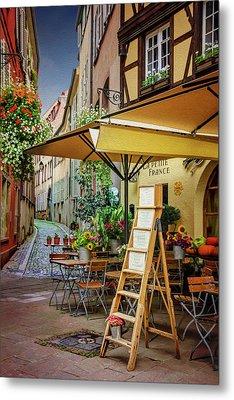 A Colorful Corner Of Strasbourg France Metal Print