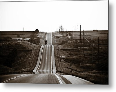 A Country Mile 1 Metal Print by Marilyn Hunt
