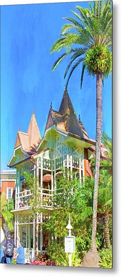 Metal Print featuring the photograph A Day In Adventureland by Mark Andrew Thomas