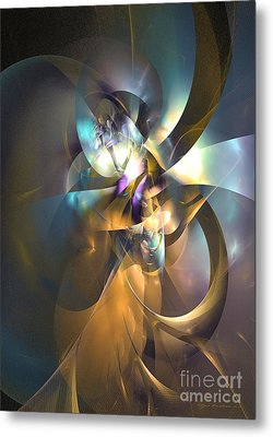 A Distant Melody Metal Print by Sipo Liimatainen