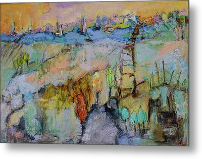 A Fine Day For Sailing Metal Print by Sharon Furner