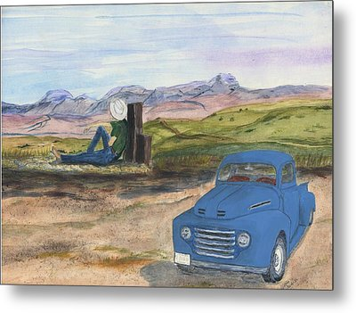 A Ford Metal Print