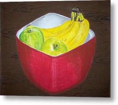 A Fruit A Day Metal Print by Sanchia Fernandes