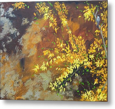 A Gift To The Giver Metal Print by Sue Furrow