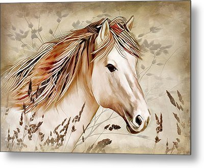 A Horse Of Course Metal Print
