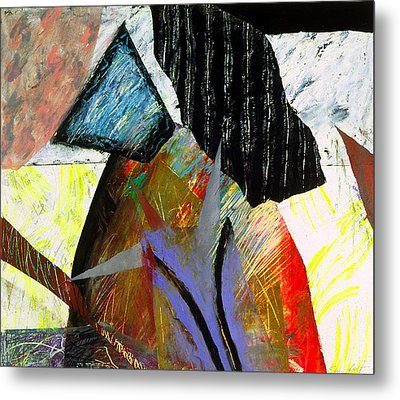 A House Divided Metal Print by Sue Reed