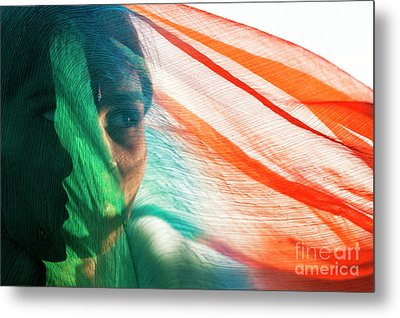 A Look Within Metal Print by Tim Gainey