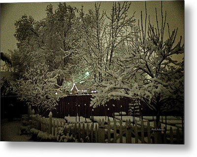 A Mid Winter's Night Metal Print by Mick Anderson