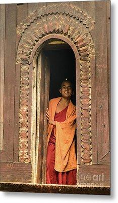 A Monk 4 Metal Print