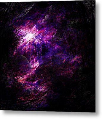 A Place Of Agony Metal Print by Rachel Christine Nowicki