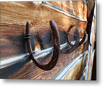 A Place To Hang Your Hat Metal Print by Edward R Wisell