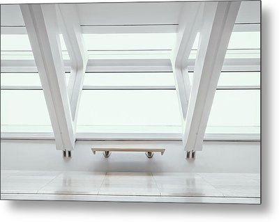 A Place To Sit 1 Metal Print by Scott Norris