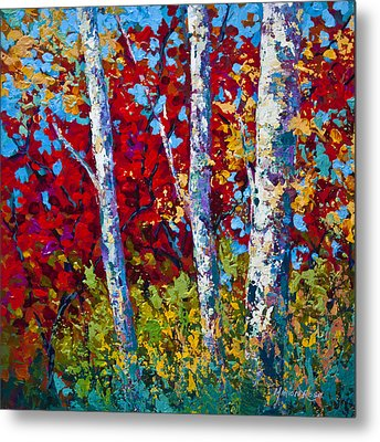 A Quiet Pause Metal Print by Marion Rose