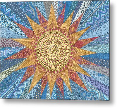 A Quilt Of Sunshine Metal Print