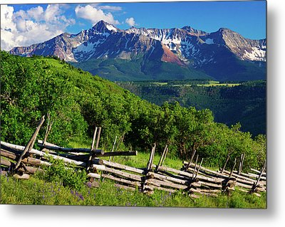 Metal Print featuring the photograph A Summer In Telluride by John De Bord