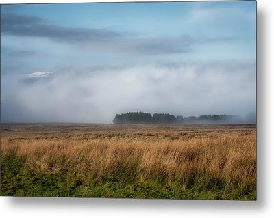Metal Print featuring the photograph A Touch Of Snow by Jeremy Lavender Photography