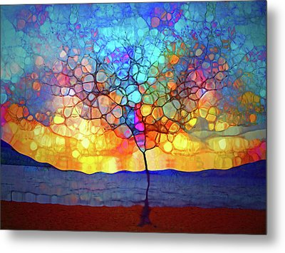 A Tree For A New Season Metal Print by Tara Turner