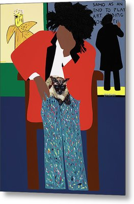 A Tribute To Jean-michel Basquiat Metal Print