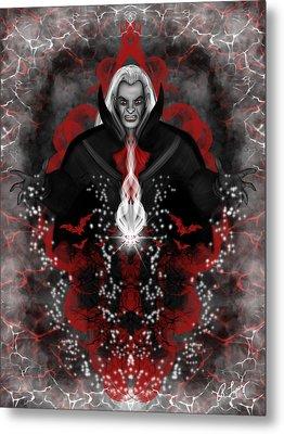 A Vampire Quest Fantasy Art Metal Print