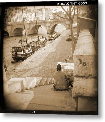 A Walk Through Paris 1 Metal Print by Mike McGlothlen