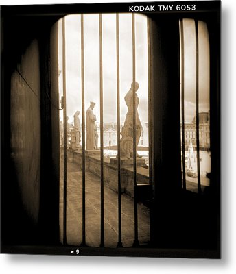 A Walk Through Paris 9 Metal Print by Mike McGlothlen