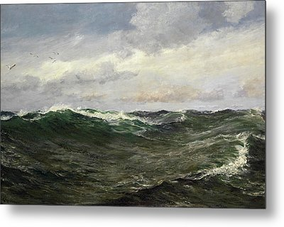 A Waste Of Waters Metal Print by Charles Napier Hemy