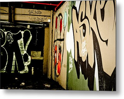 Abandoned And Grunge Metal Print by Yurix Sardinelly
