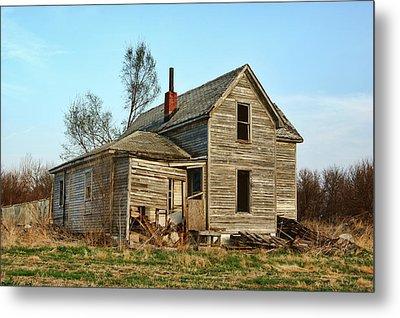 Abandoned Farmhouse Metal Print