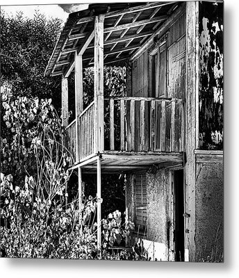 Abandoned, Kalamaki, Zakynthos Metal Print by John Edwards