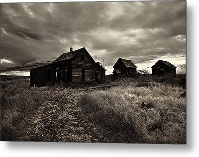 Abandoned Metal Print by Mike  Dawson