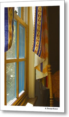 Metal Print featuring the photograph Abiquiu Window by R Thomas Berner