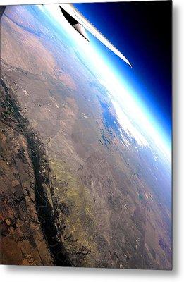 Above The Earth Metal Print by Elizabeth Hoskinson
