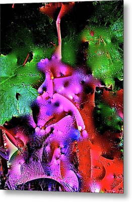 Abstract 35 Metal Print by Pamela Cooper