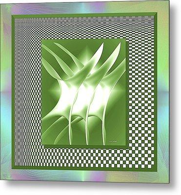 Abstract 54 Metal Print by Iris Gelbart