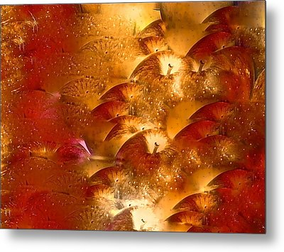 Abstract 70 Metal Print by Pamela Cooper