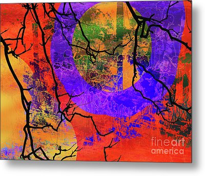 Abstract Configuration Metal Print by Robert Ball