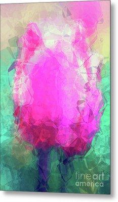 Abstract Flower Vi Metal Print