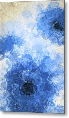 Abstract Flower Vii Metal Print